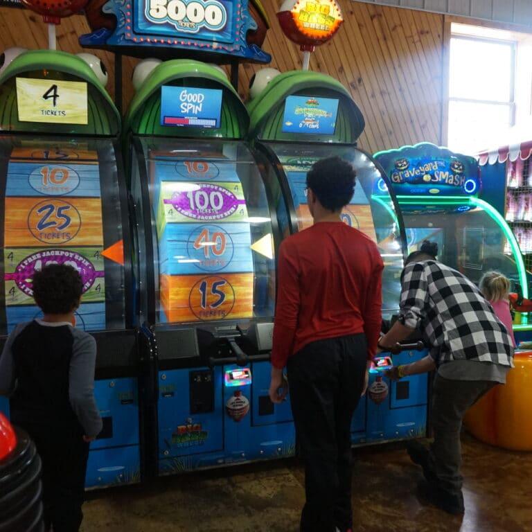 arcade for kids in kenosha, kenosha kids arcade, action territory