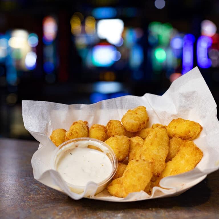 cheese curds, kenosha cheese curds, our menu