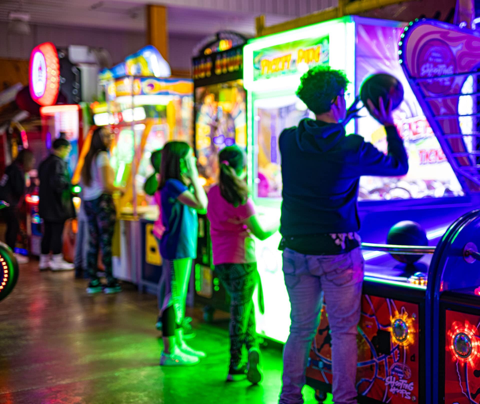 arcade in kenosha, kenosha amusement park, america's action territory
