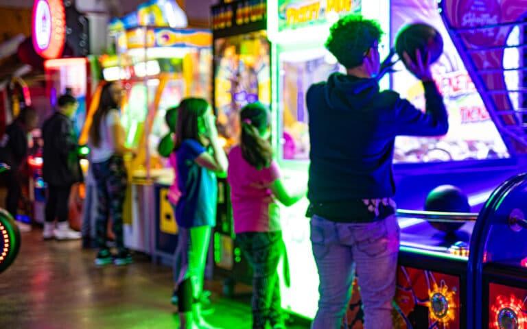 kenosha family activities, kenosha kids activities, kenosha arcade