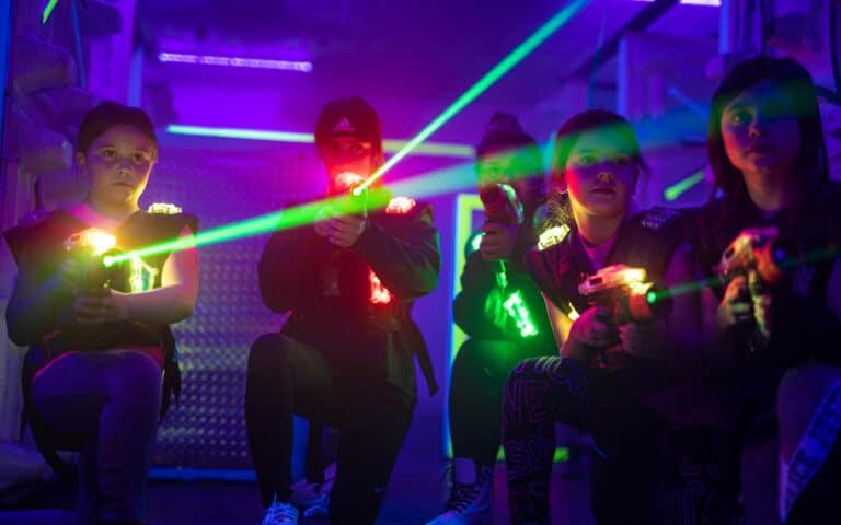 laser tag kenosha, kenosha laser tag, action territory