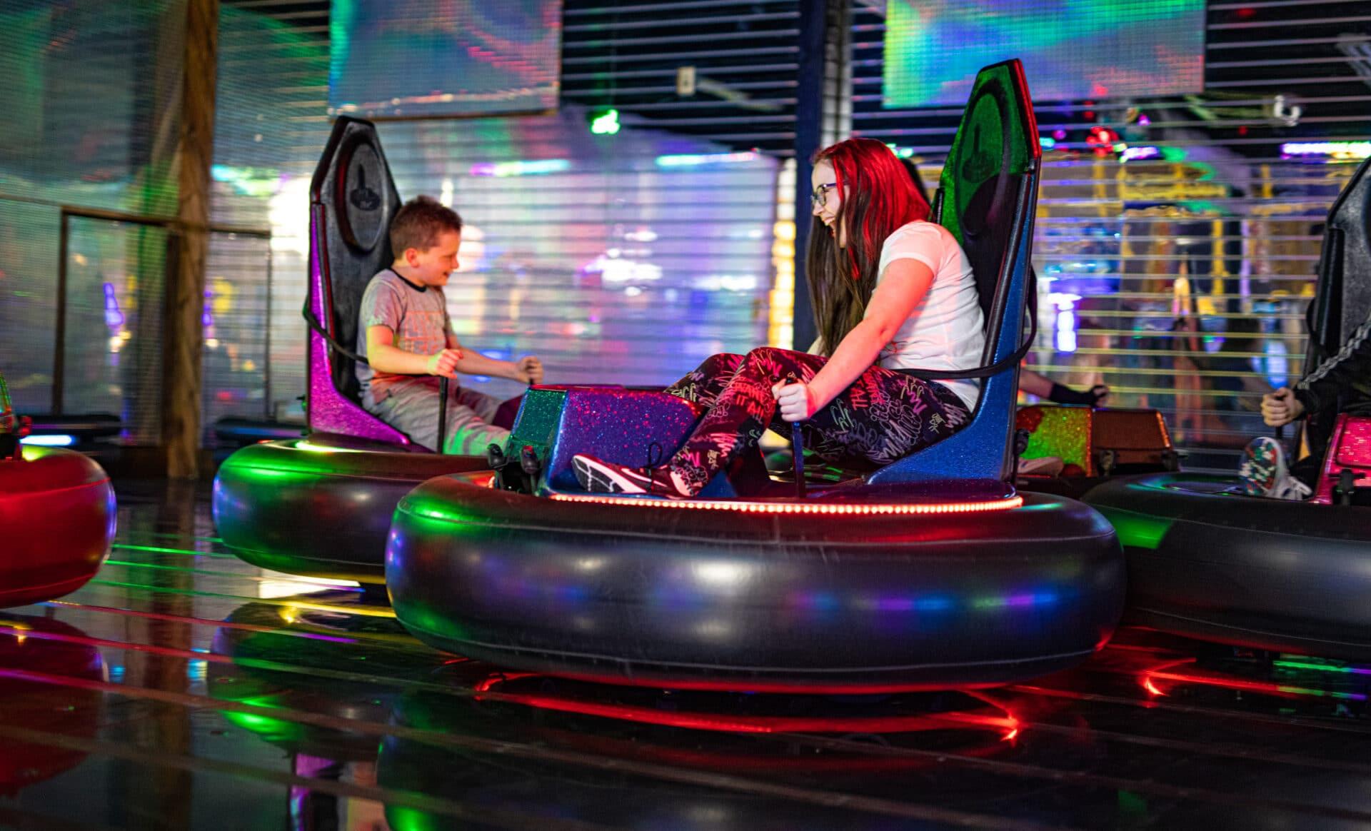 bumper cars in kenosha, kensoha family fun, family activities in kenosha